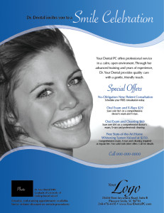DentalSampleFlyer